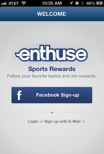 Enthuse Mobile App