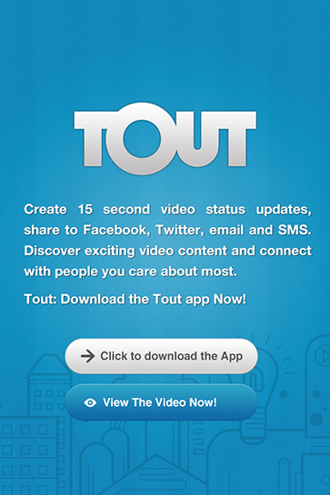 Tout Mobile Application